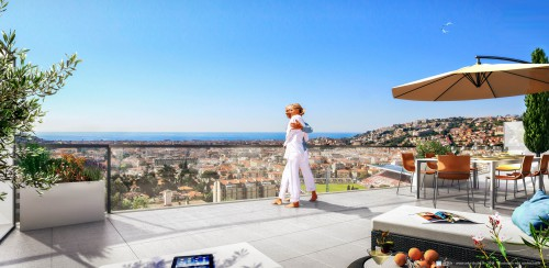 blue bay - appartement neuf à nice - evimmo 3d