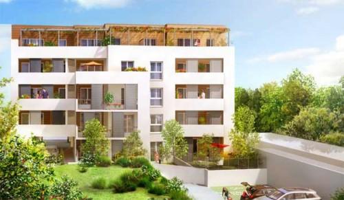 Acheter un appartement neuf à Valence - Programme immobilier les Faventines Plein Ciel