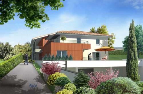 Acheter un appartement neuf à l'Union en Haute Garonne - Terrasses de Cornaudric